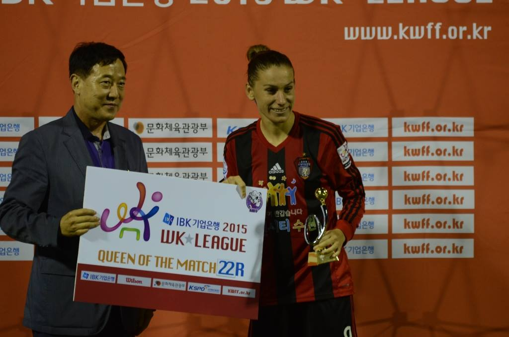 Queen of the match